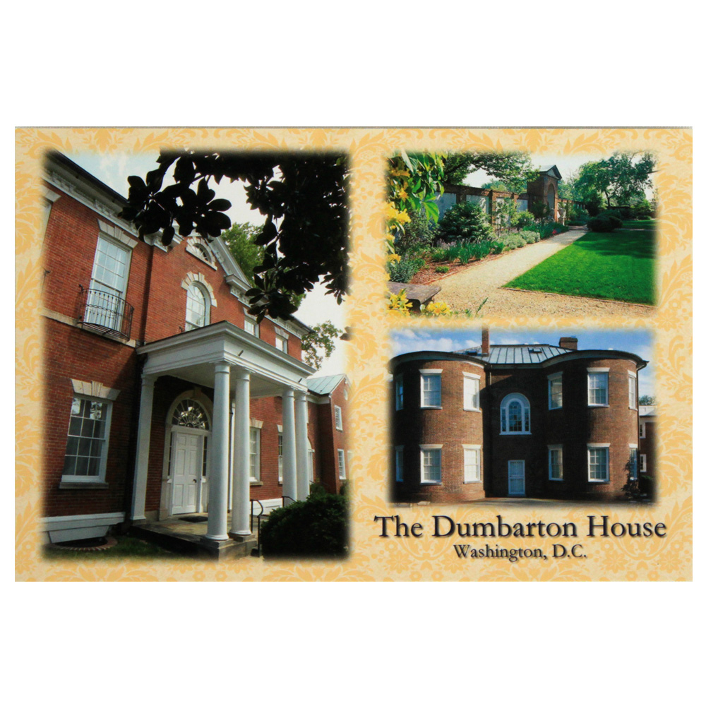 Dumbarton House Postcard