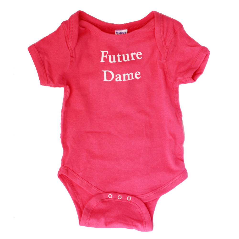 """Future Dame"" Onesie"