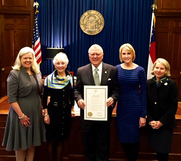 Atlanta Garden Of Bill Hudgins: Georgia Proclaims Bill Of Rights Day