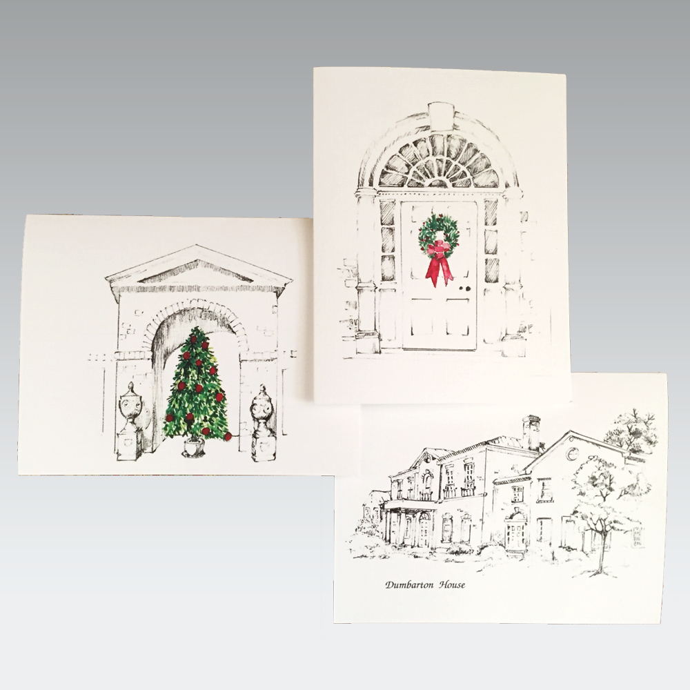 Dumbarton House Christmas Cards